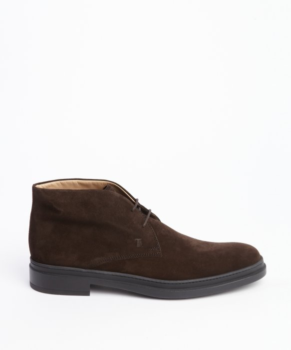 Tod's Marrone Suede Lace Up Chukka Boots in Brown for Men | Lyst