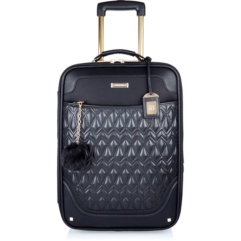 River Island Black Suitcase