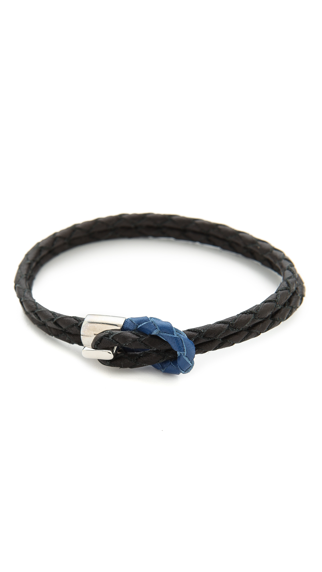miansai s bracelet miansai savoy bracelet in black for lyst 3045