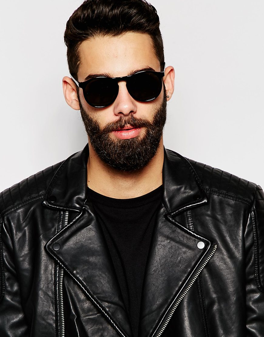 Lyst Toyshades Lewis Round Sunglasses In Black For Men