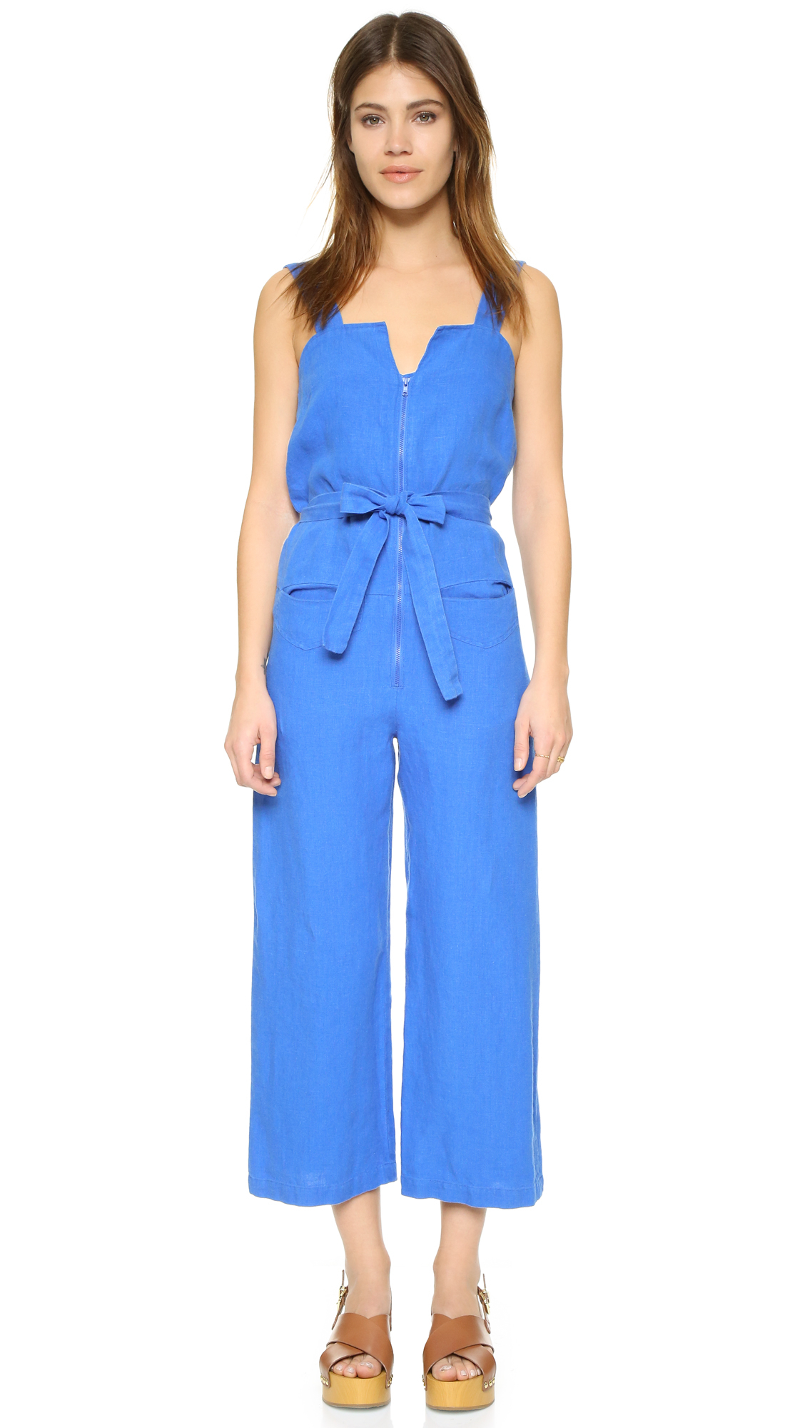 da55755becd Lyst - Rachel Comey Bend Jumpsuit in Blue