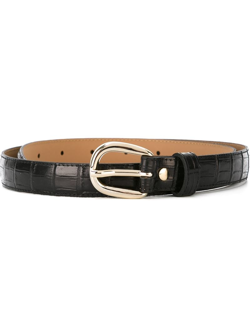 Discover the range of men's belts with ASOS. From a simple classic belt for work or a studded belt to add some rock flair to your look. Available now at ASOS. ASOS DESIGN faux leather skinny belt in brown with burnished edge and western buckle. $ HUGO Gionio leather belt in brown. $ Superdry Badgeman belt in black. $