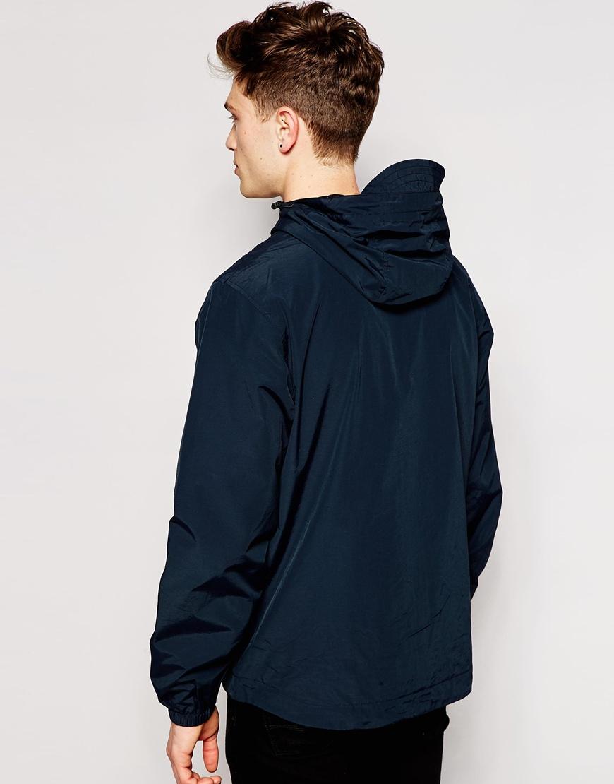 lyle scott jacket with hood in blue for men lyst. Black Bedroom Furniture Sets. Home Design Ideas