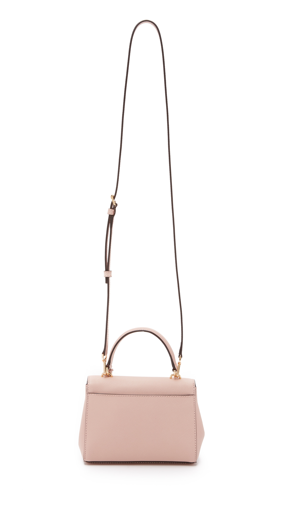 ac4c9eb384c1 MICHAEL Michael Kors Ava Extra Small Cross Body Bag - Ballet in Pink - Lyst