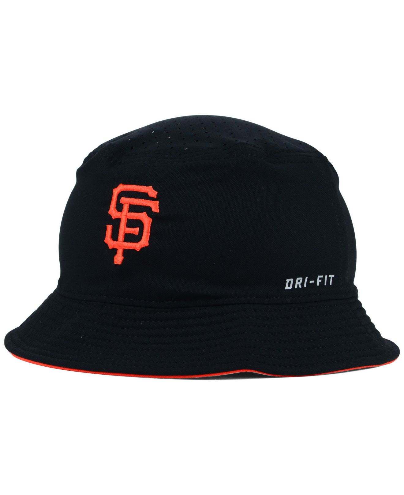 ... switzerland lyst nike san francisco giants vapor dri fit bucket hat in  black 9045d 1c71b ... 3c6cae6a736