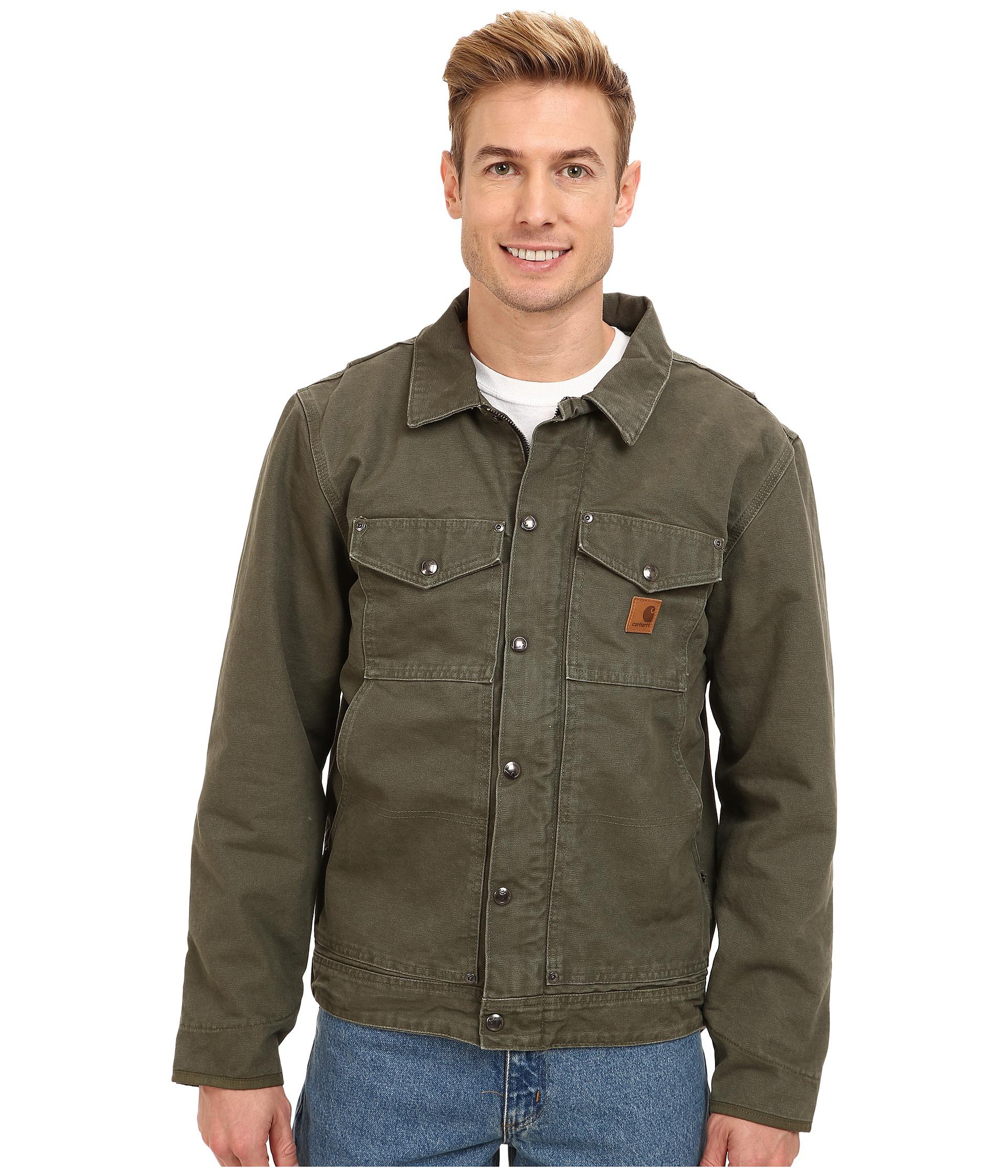 Lyst Carhartt Berwick Jacket In Green For Men