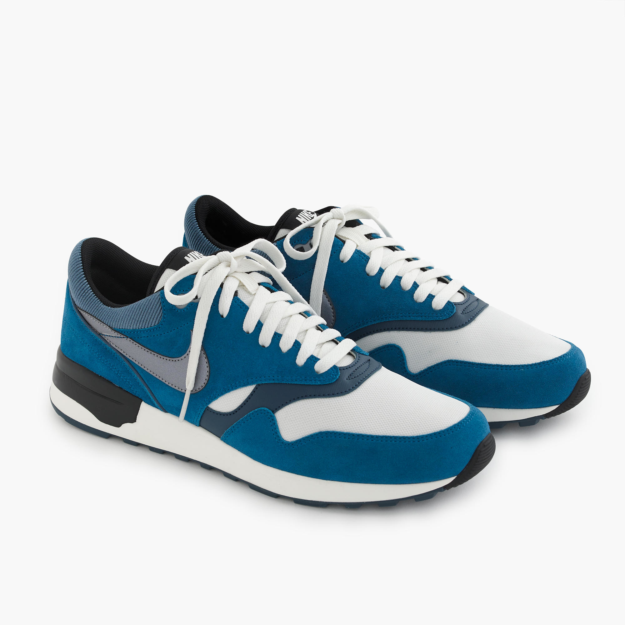 nike air odyssey sneakers in cobalt in blue for men. Black Bedroom Furniture Sets. Home Design Ideas