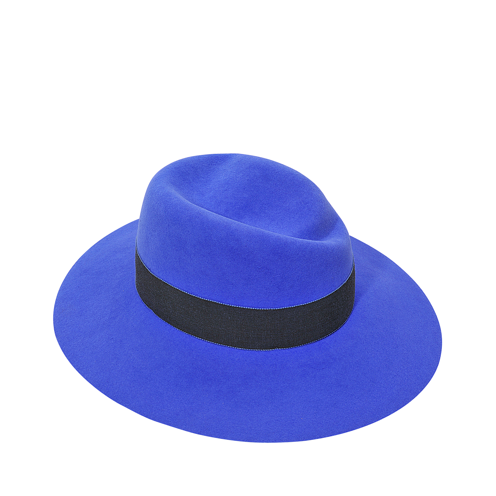 84465c3b6fc7a Maison Michel Virginie Large Brim Hat in Blue - Lyst