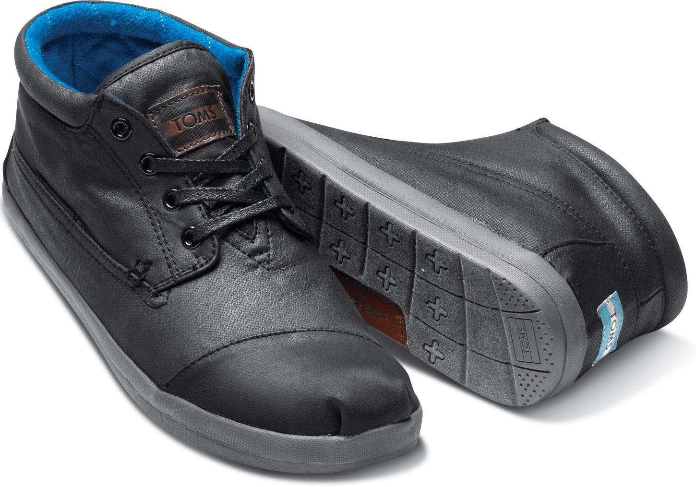 lyst toms botas highlands pour homme in black for