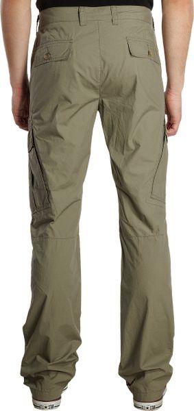 Michael Kors Lightweight Cargo Pants In Green For Men Lt