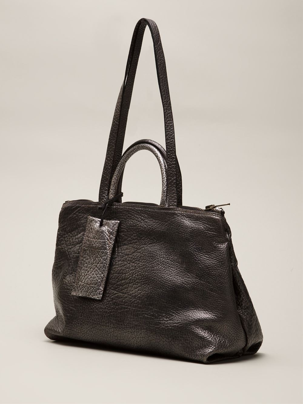 Lyst Mars 232 Ll Dritta Bag In Gray