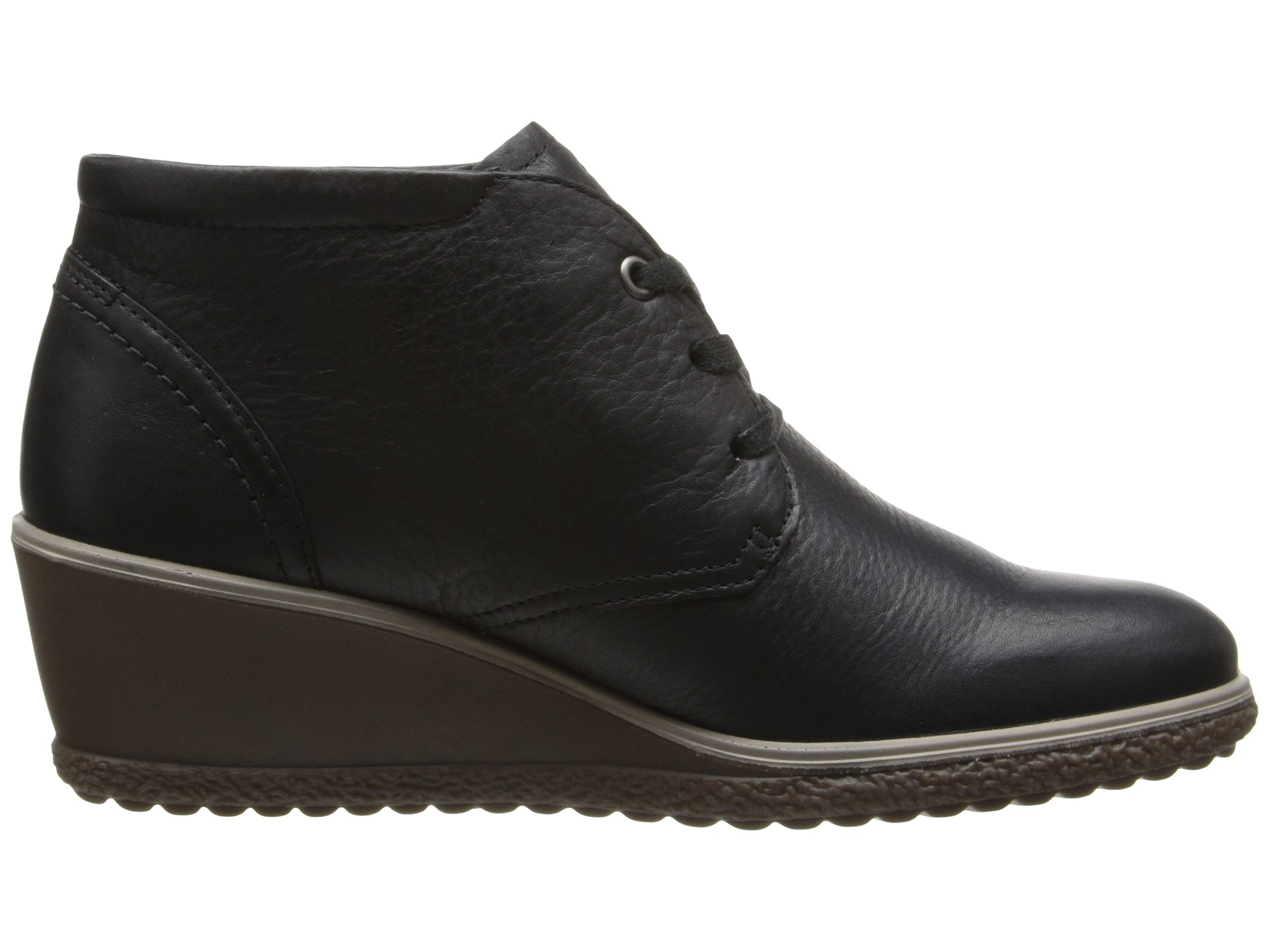 a085b54d5ff9 Lyst - Ecco Camilla Wedge Ankle Boot in Black