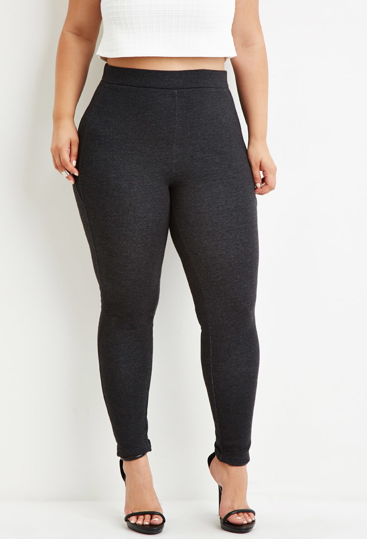 High Waisted Leggings Plus Size