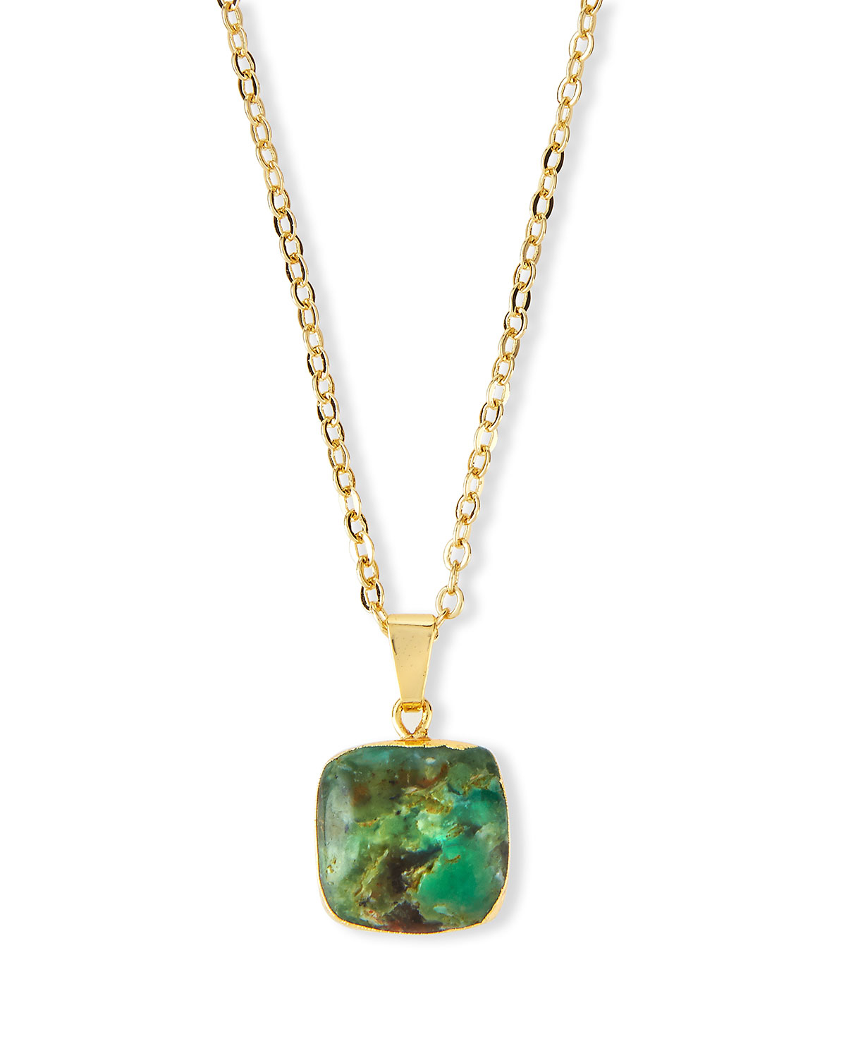 Elise m nova australian jade pendant necklace in green lyst for Pictures of jade jewelry