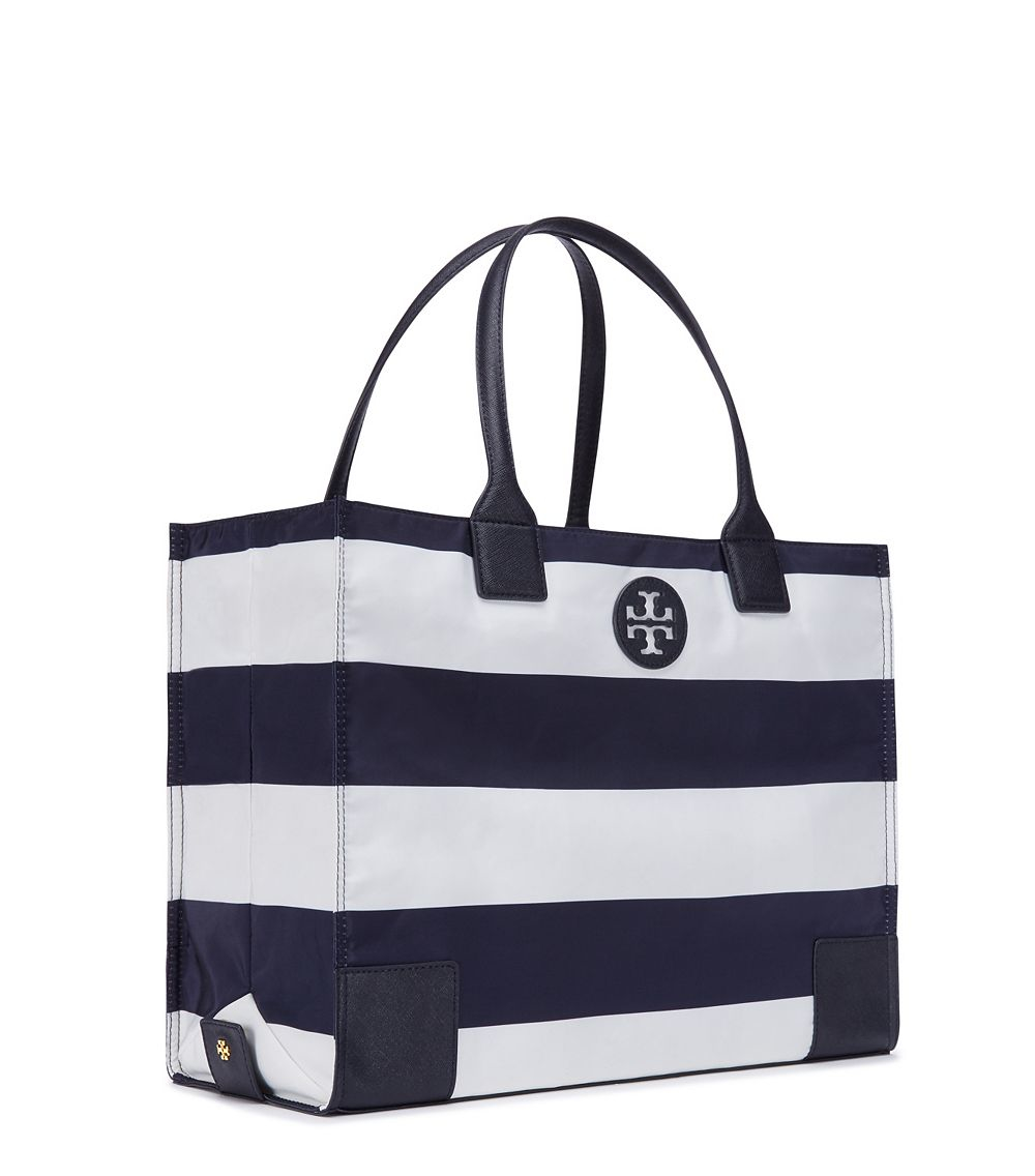 f5815a206249 Lyst - Tory Burch Ella Printed Packable Tote in Blue
