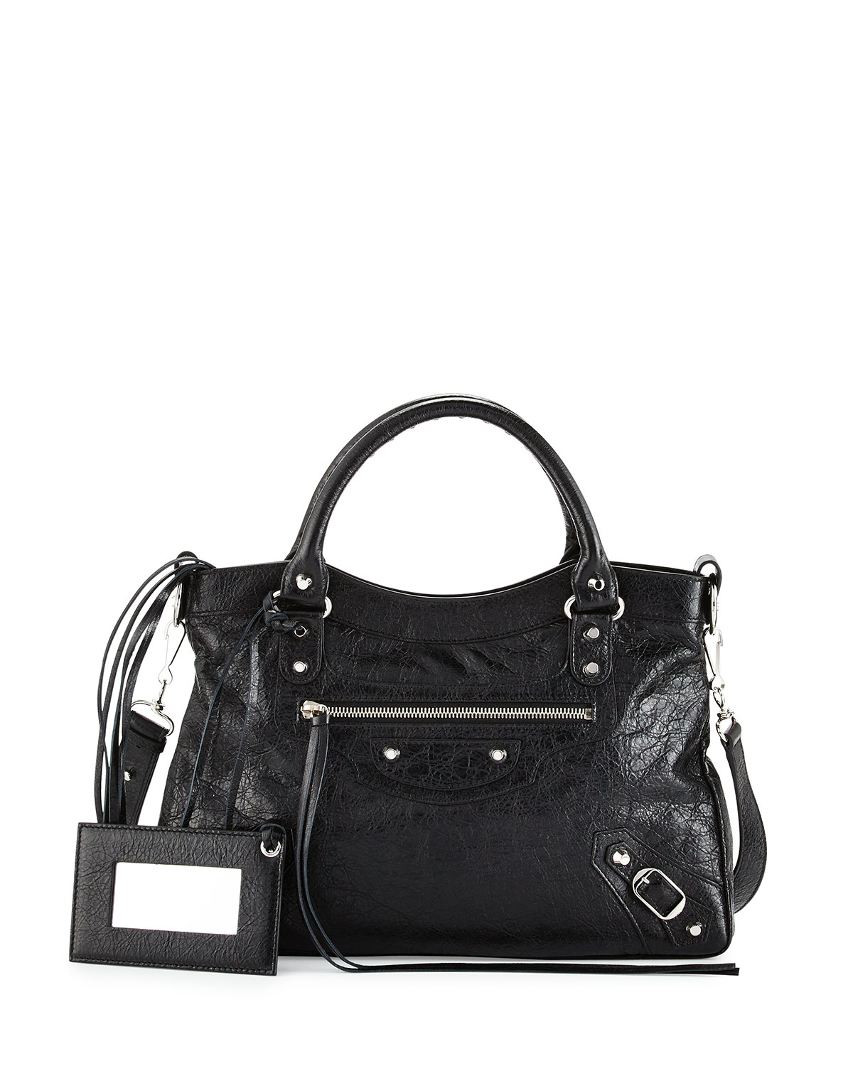 Lyst Balenciaga Classic Nickel Town Tote Bag In Black