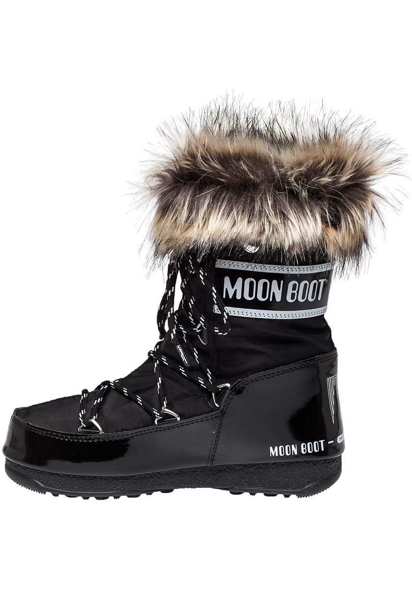 Tecnica Moon Boot We Monaco Low After Ski Boot Black In