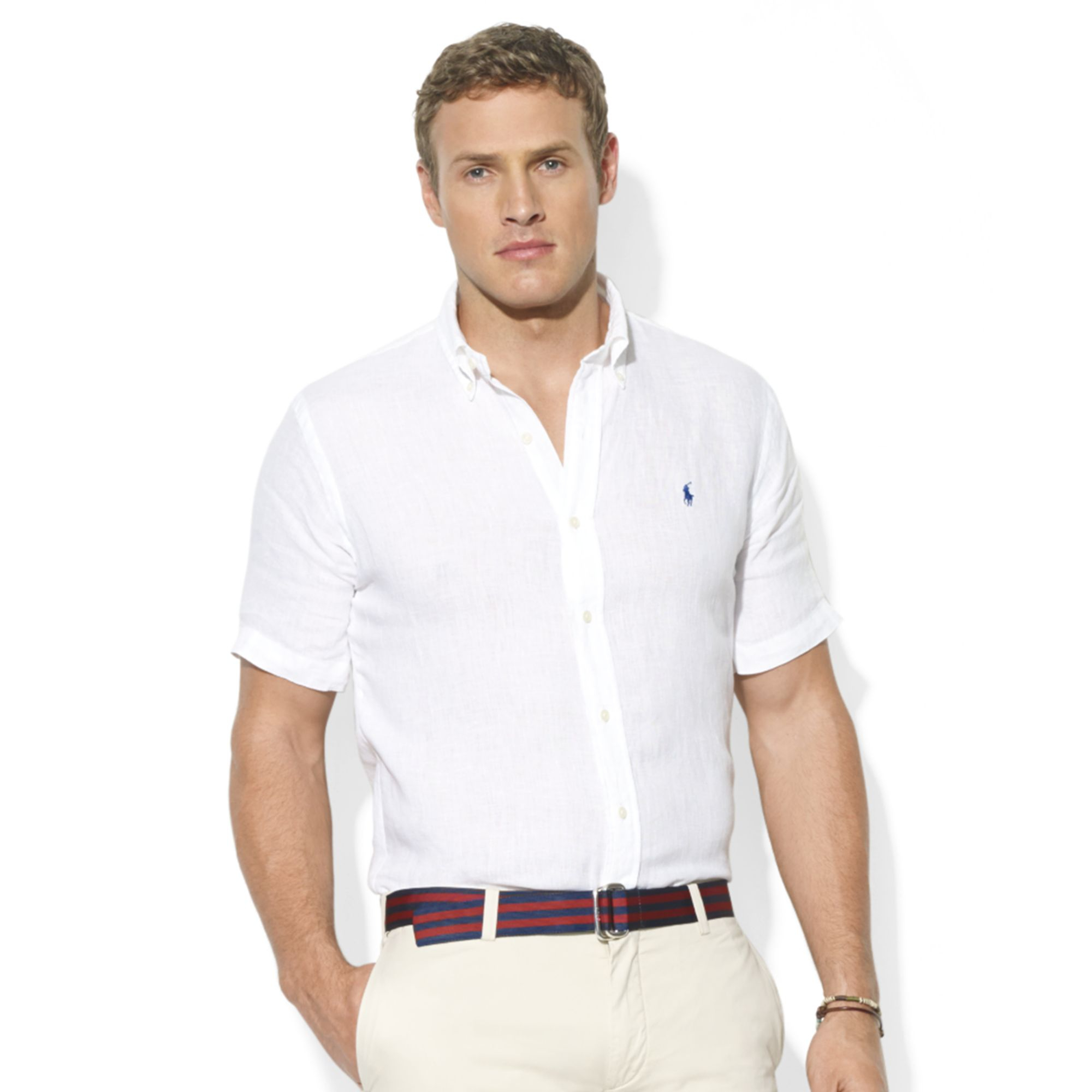 Short Sleeve Slim Fit Shirts For Men