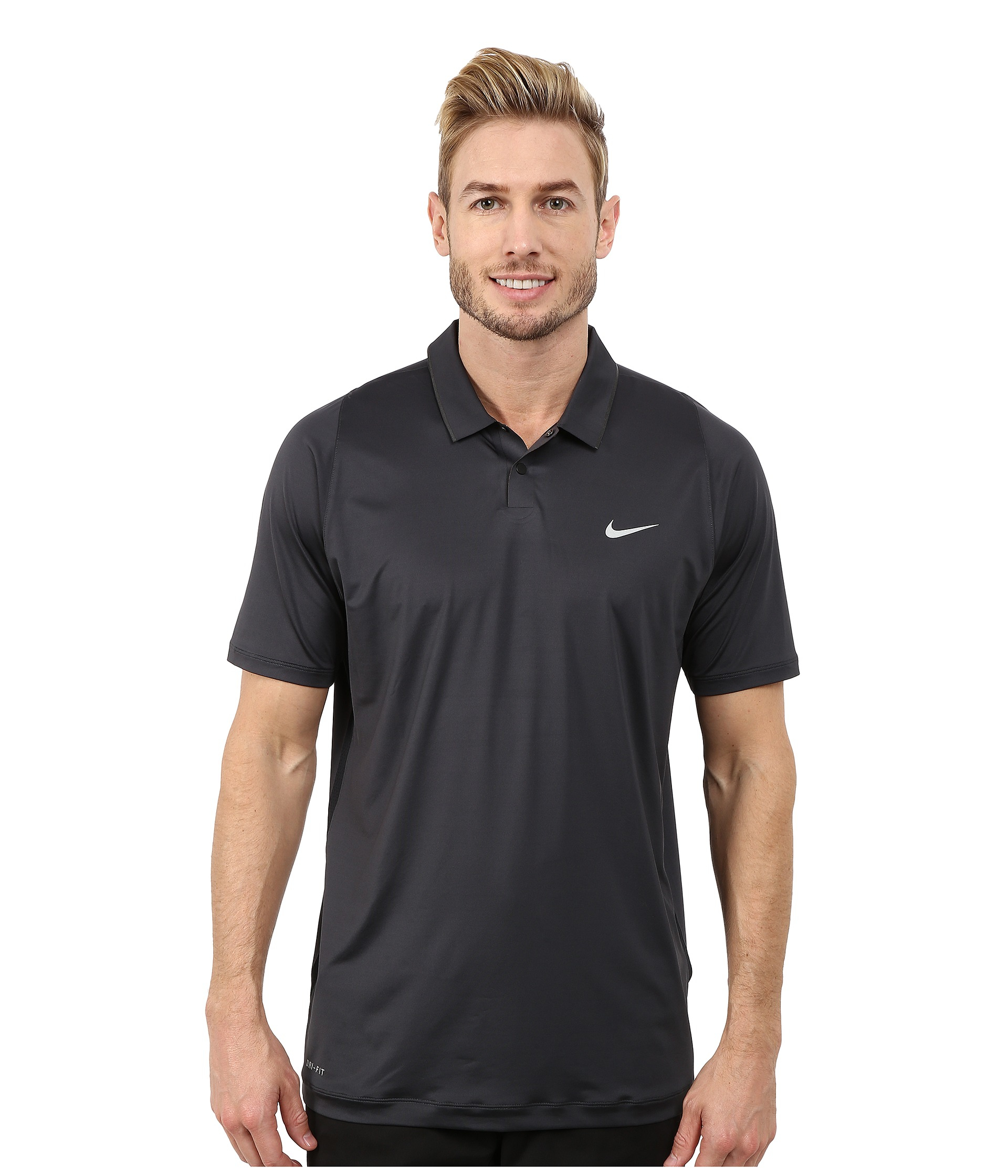 e4e689124 Nike Tiger Woods Velocity Ultra Polo Shirt in Gray for Men - Lyst