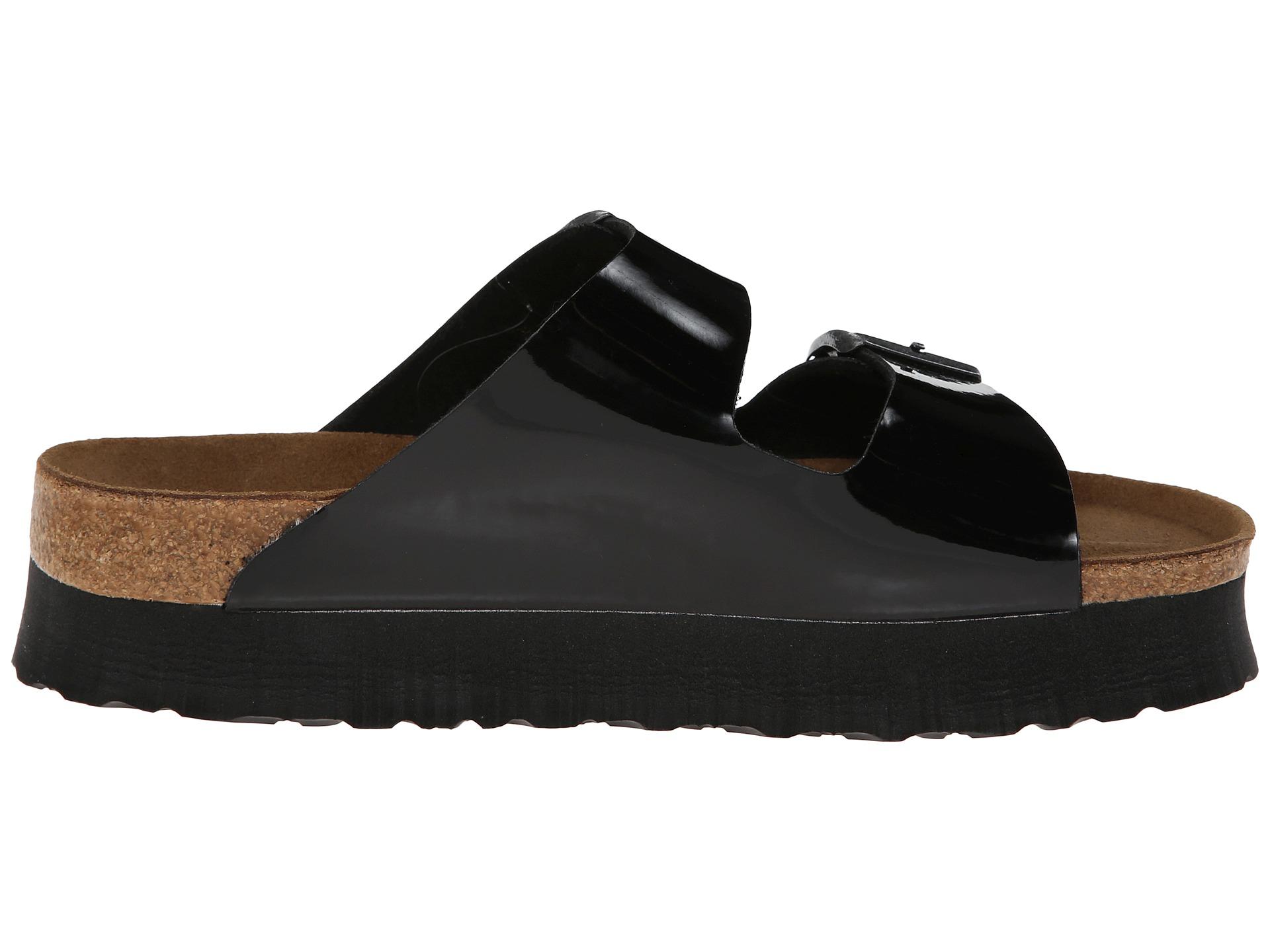 Black Patent Platform Shoes