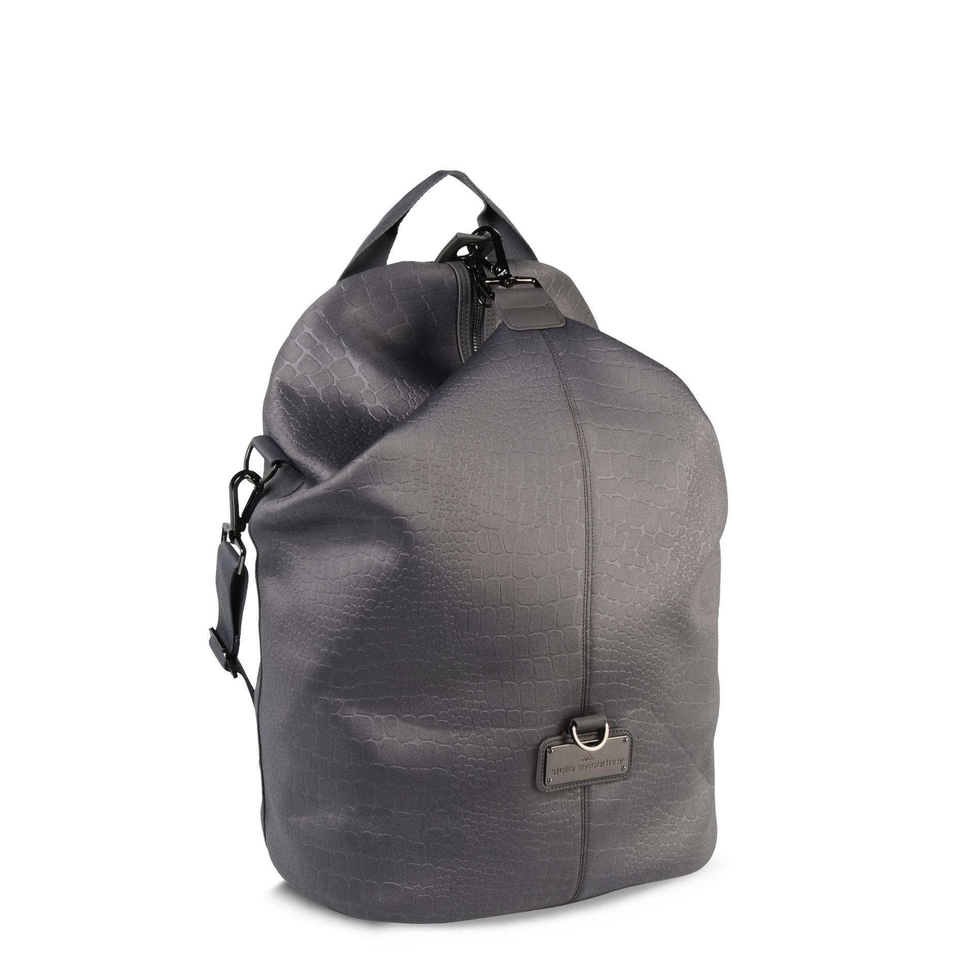 lyst adidas by stella mccartney grey studio bag in gray. Black Bedroom Furniture Sets. Home Design Ideas