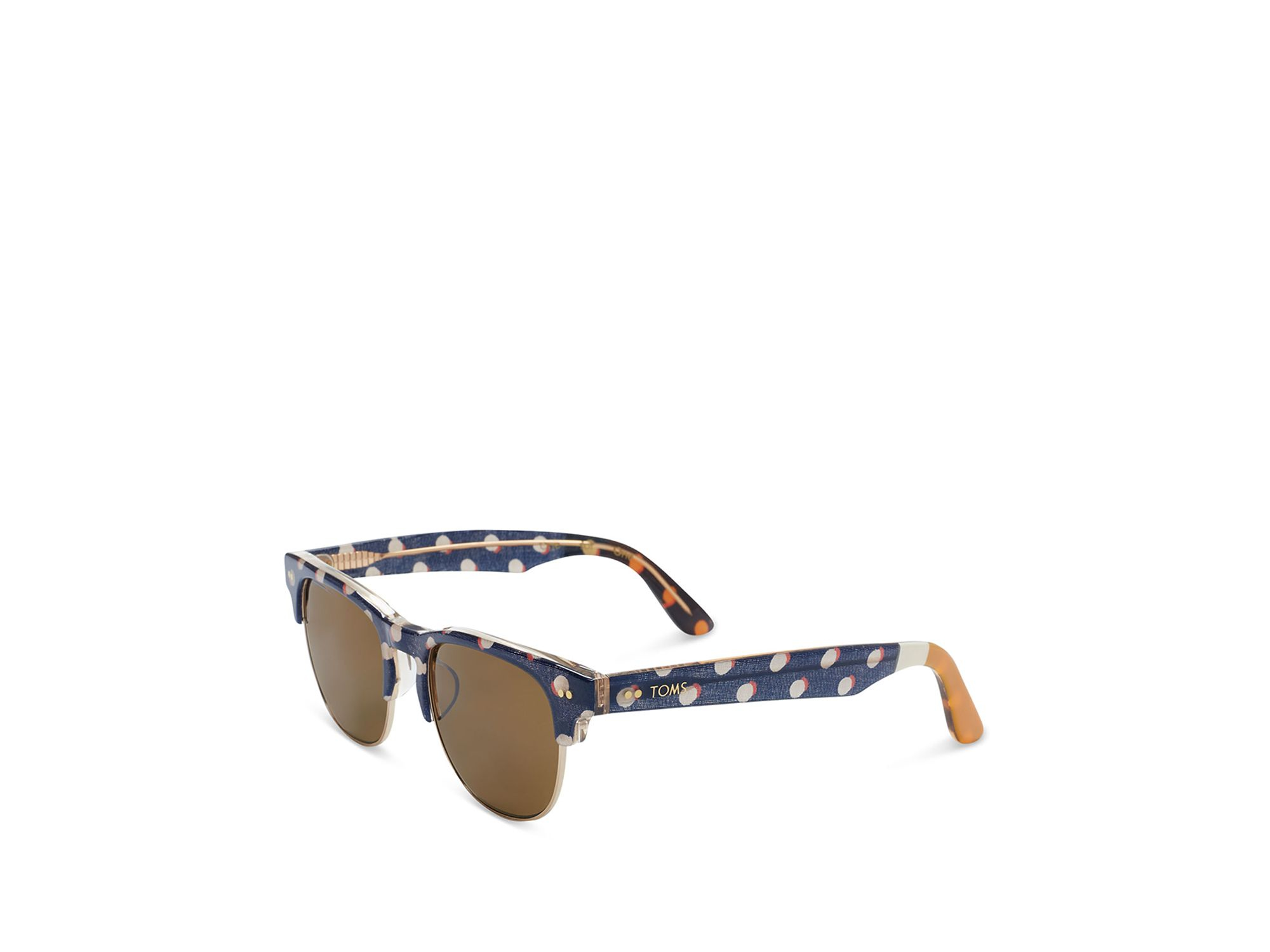 Toms Lobamba Sunglasses in Brown | Lyst