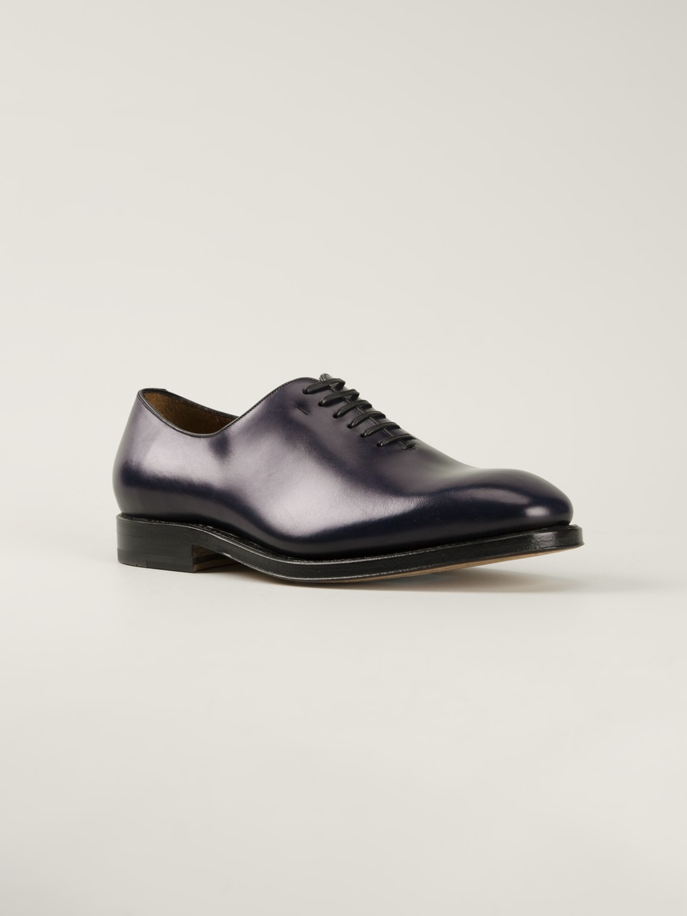 Ferragamo Classic Oxford Shoes In Blue For Men | Lyst