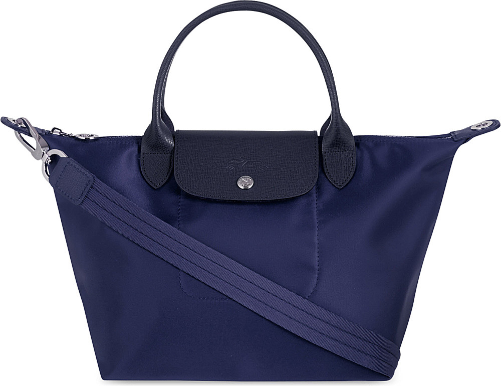 Longchamp Le Pliage Neo Medium Handbag In Purple Lyst