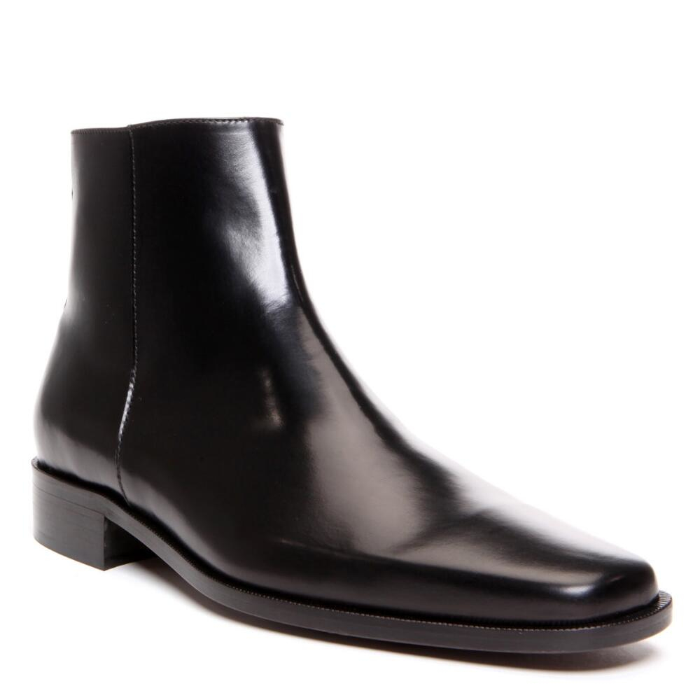 Donald J Pliner Calfskin Ankle Boots In Black For Men Lyst