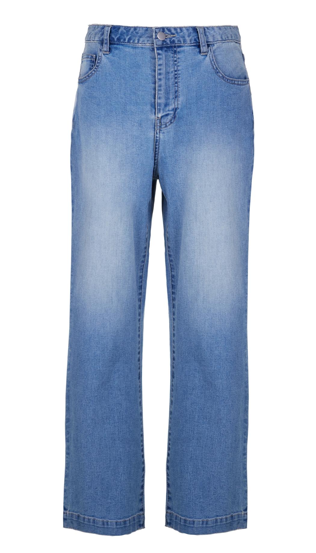 tibi vintage wash cropped flare jeans in blue lyst. Black Bedroom Furniture Sets. Home Design Ideas