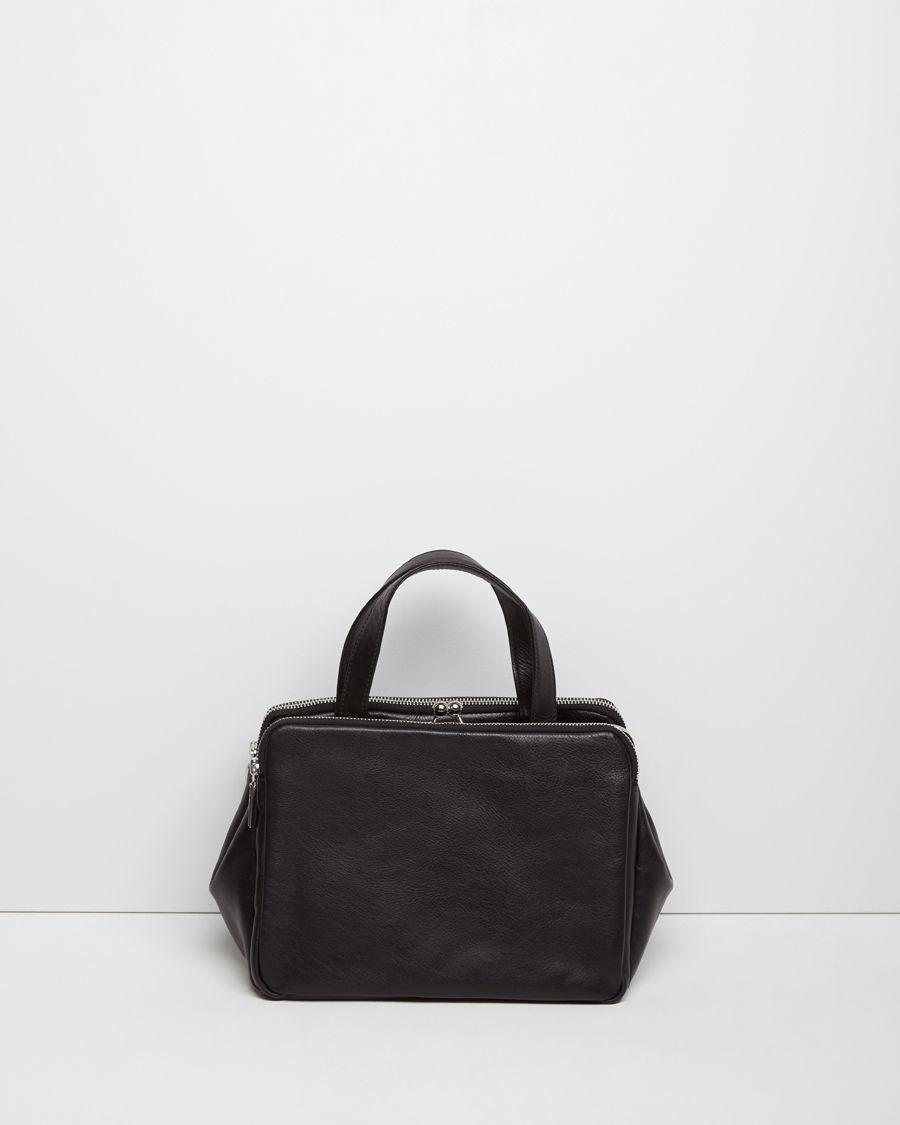 fea55009d3 Lyst - Yohji Yamamoto Clasp Handbag in Black