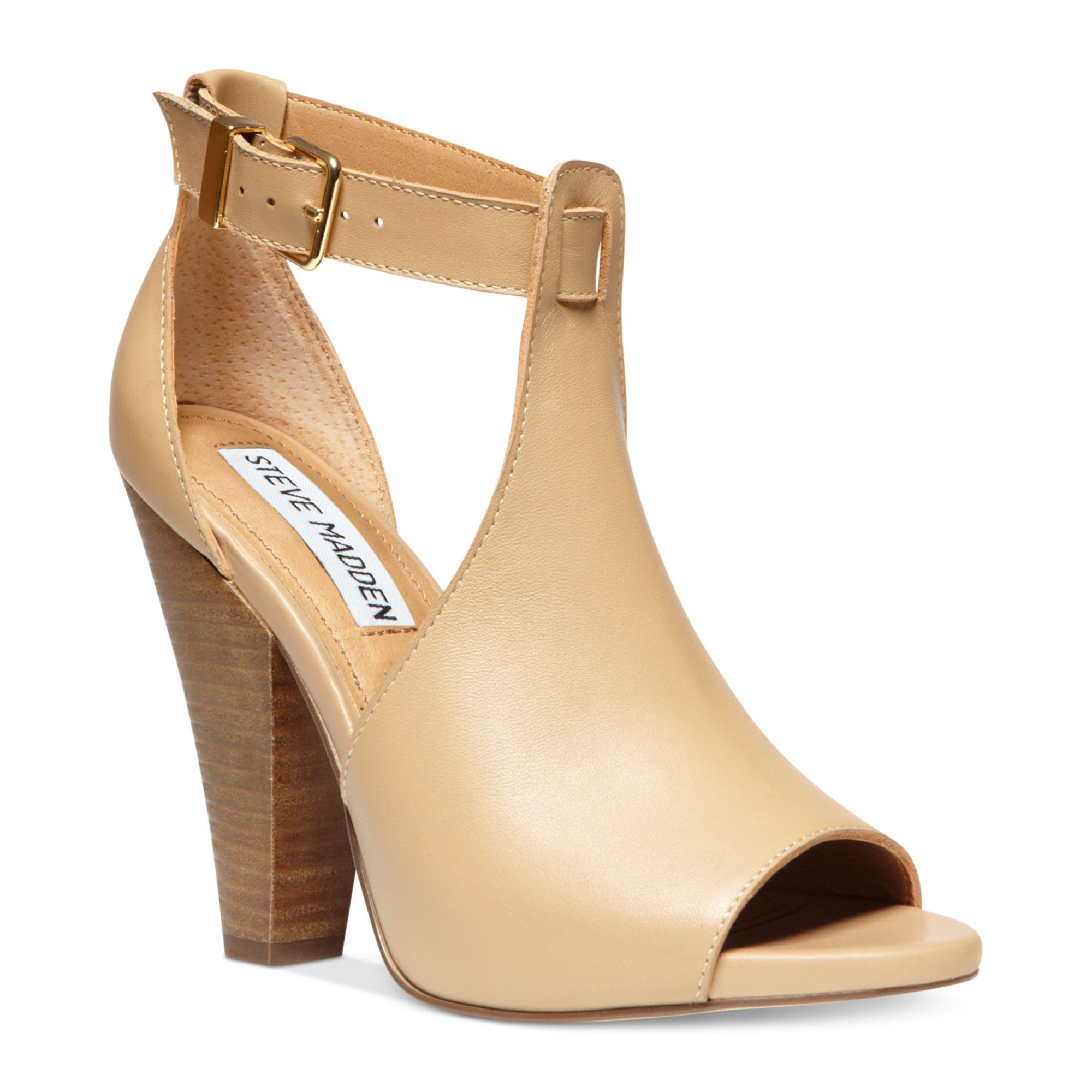 Lyst Steve Madden Womens Alycce Sandals In Natural