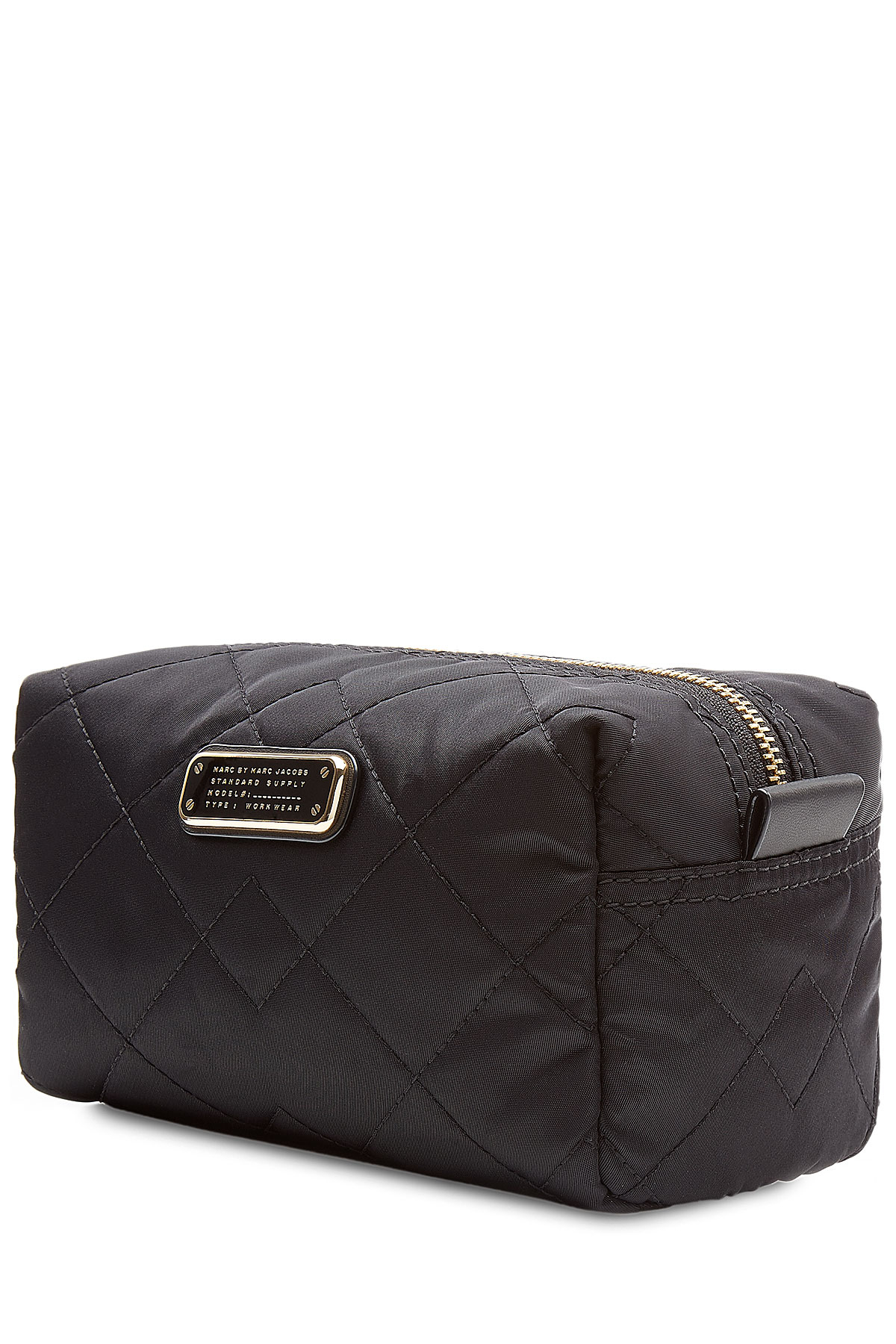 bdb9a19203f0 Lyst - Marc By Marc Jacobs Quilted Makeup Bag - Black in Black