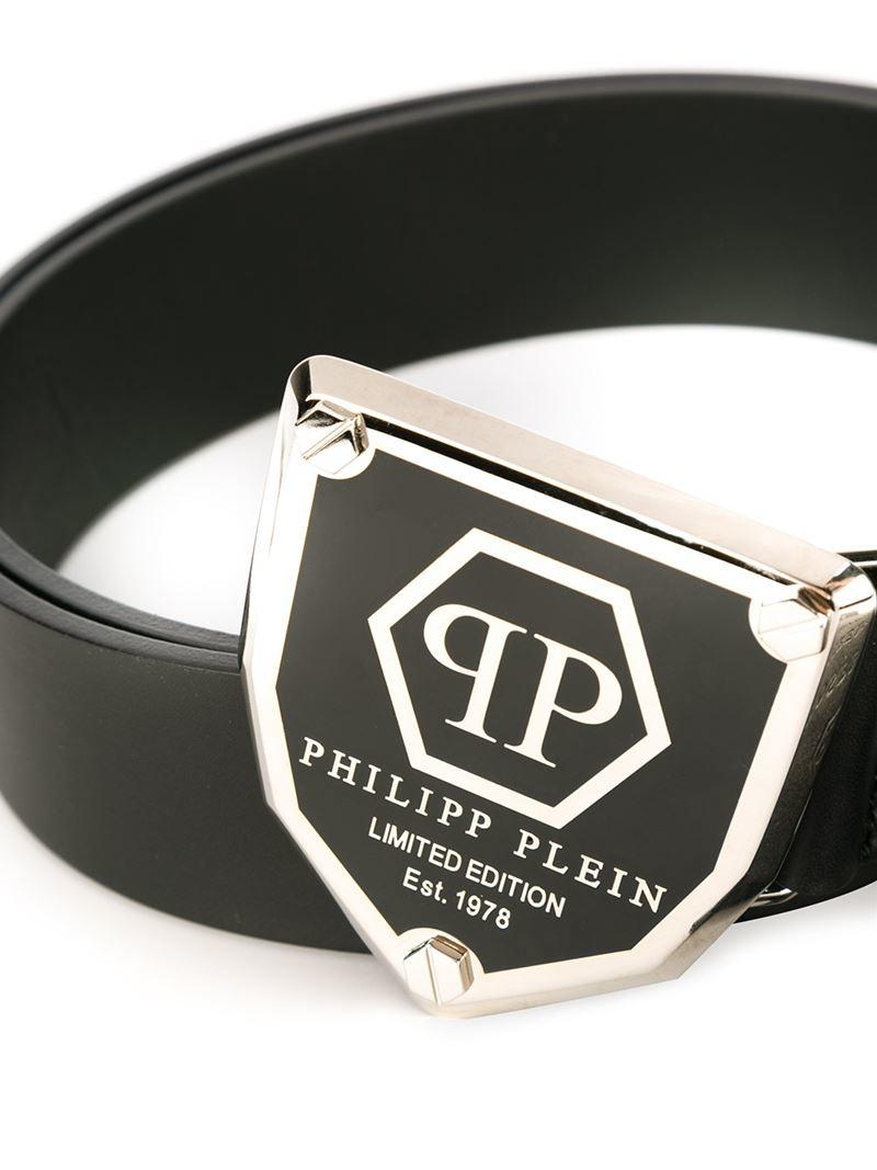 Lyst Philipp Plein Cosmo Belt In Black For Men