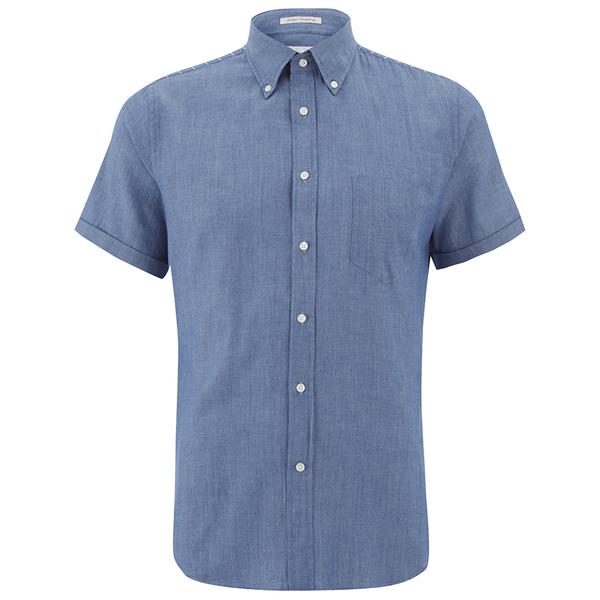 Lyst Gant Rugger Men 39 S Chambray Short Sleeve Shirt In