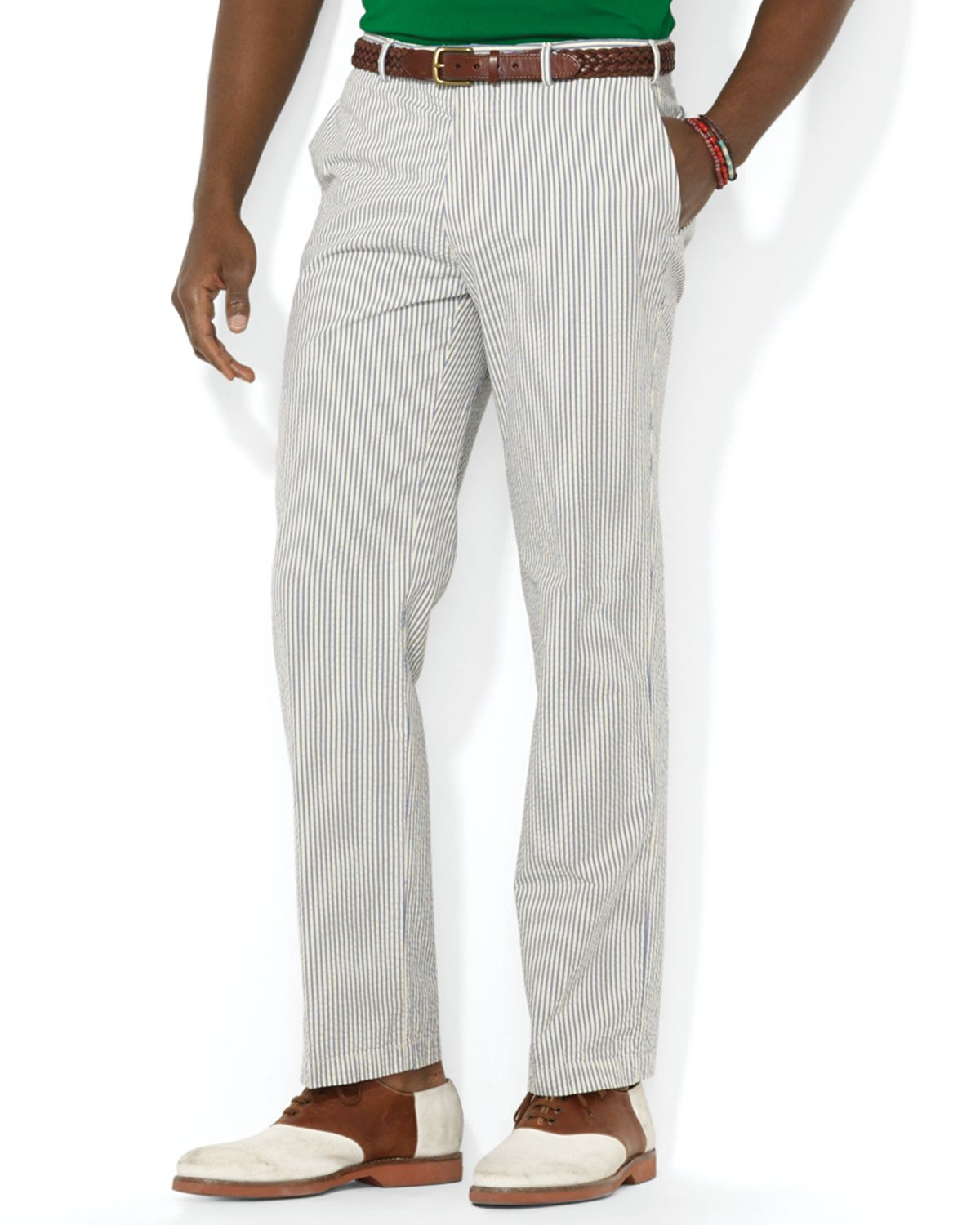 Our men's Clark fit seersucker pants are made from pure cotton. Clark fit has a plain front, sits straight through the hip and thigh. Imported. Seersucker pants, made from pure cotton. Clark fit has a plain front, sits straight through the hip and thigh. Machine wash. Imported/5(5).