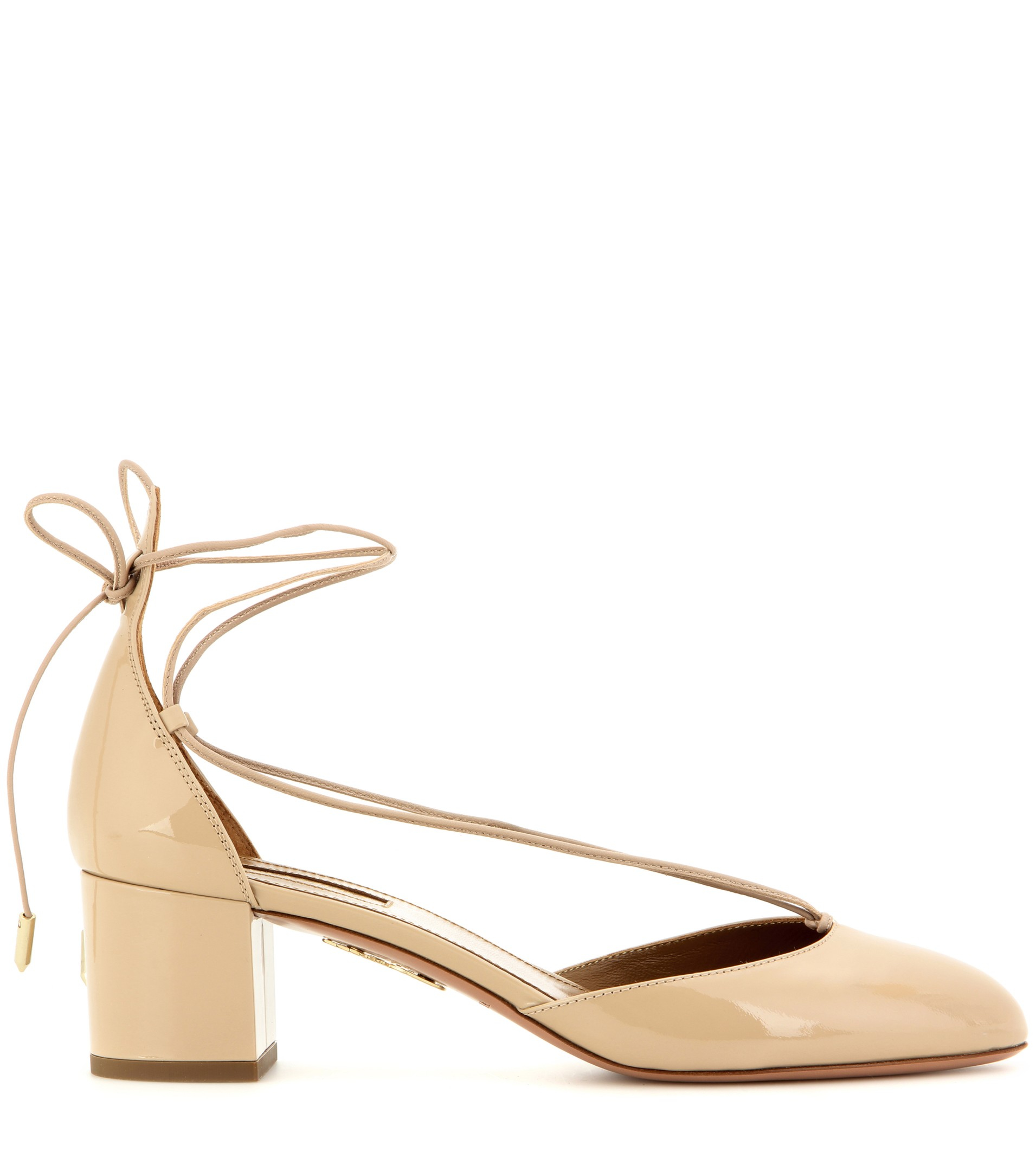 Aquazzura Alexa Patent Leather Sandals perfect online buy cheap for sale cheap sale wide range of 8IQWy