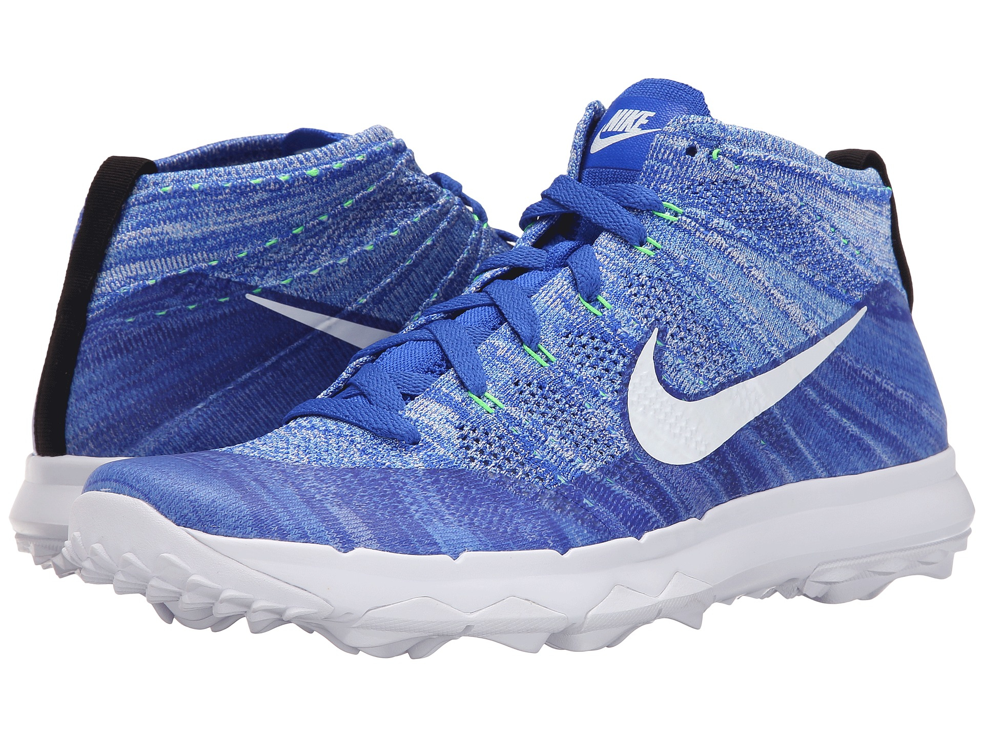 Nike Fi Flyknit Chukka In Blue For Men Lyst