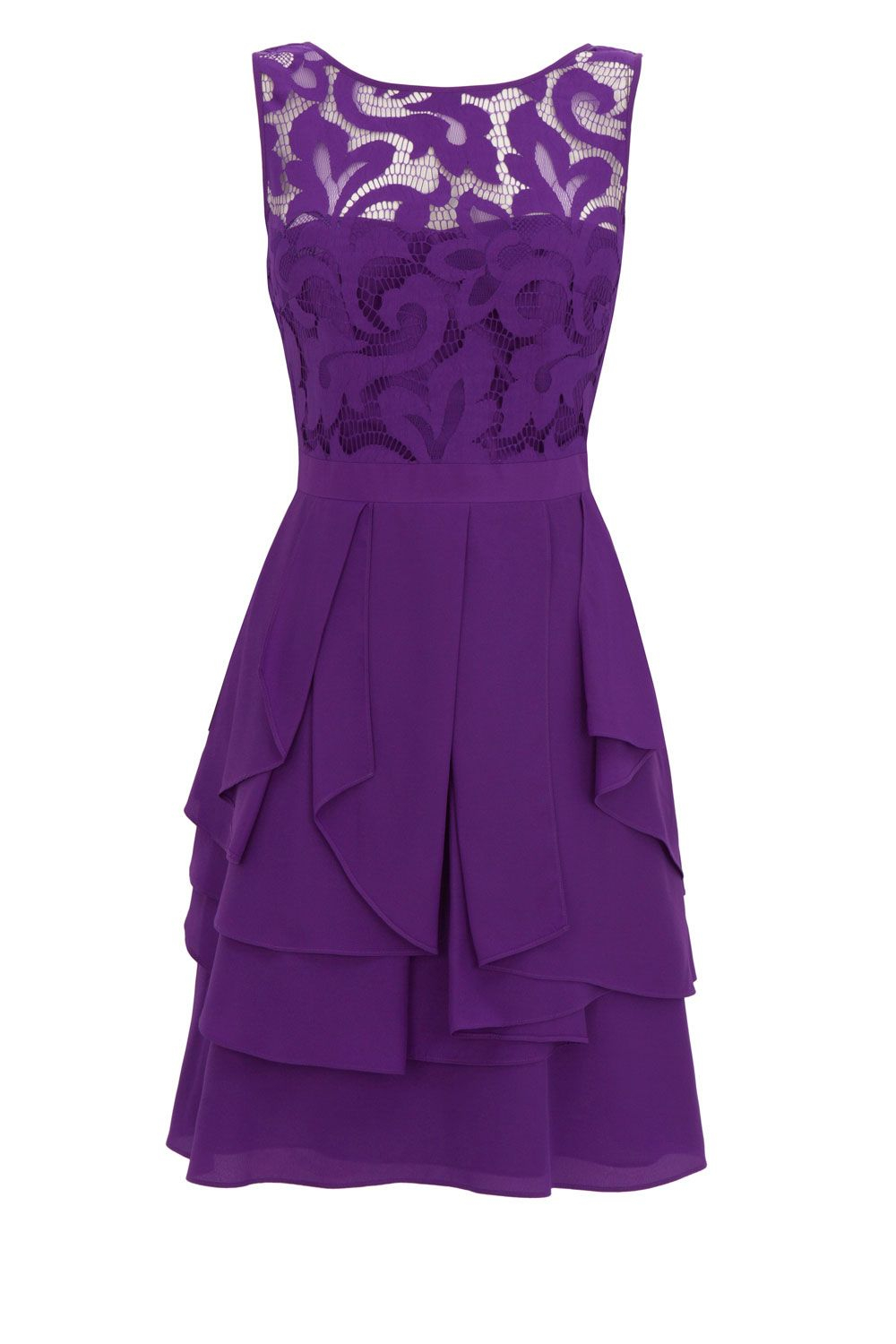 Coast Daymee Dress In Purple Lyst