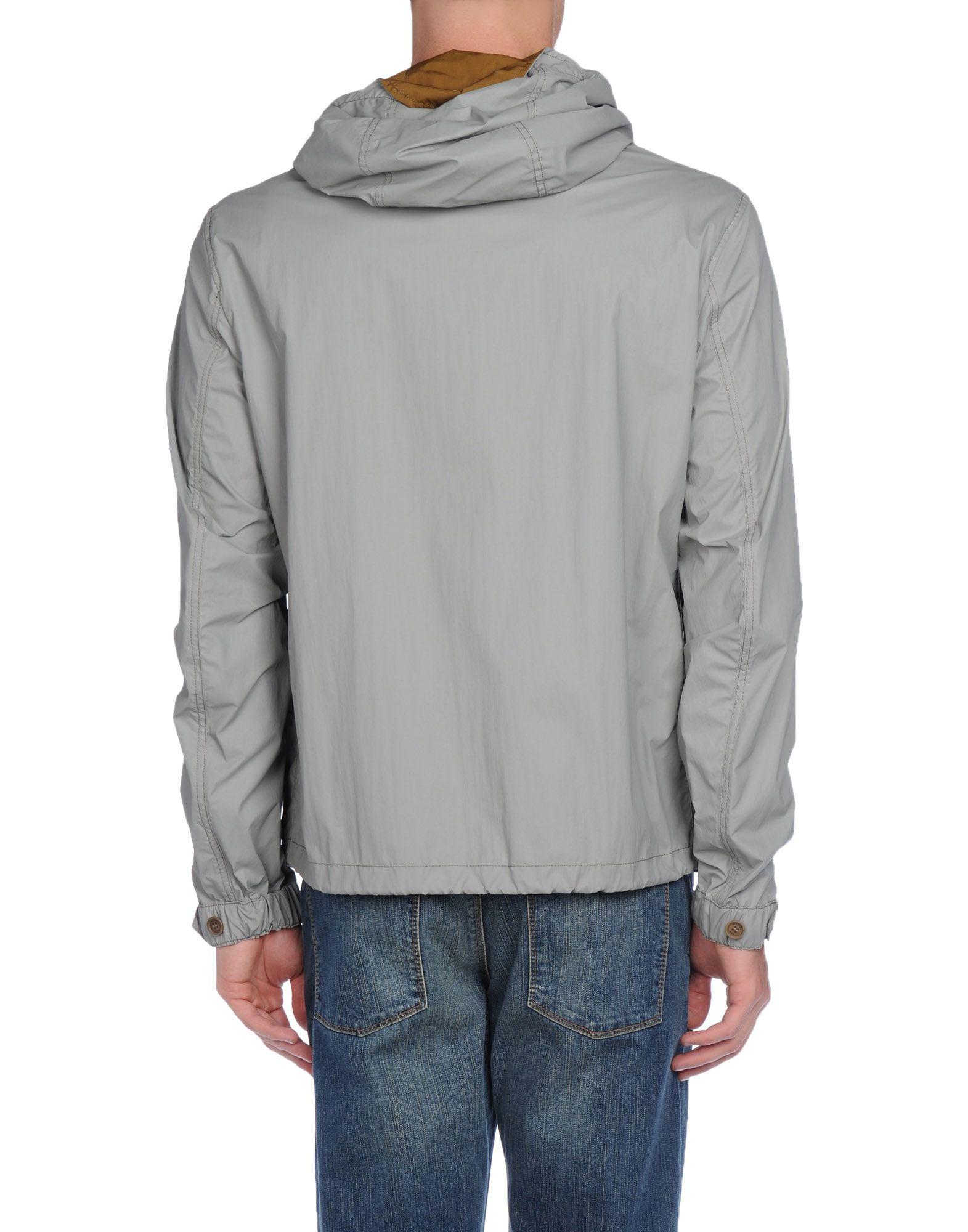 lyst burberry brit jacket in gray for men. Black Bedroom Furniture Sets. Home Design Ideas