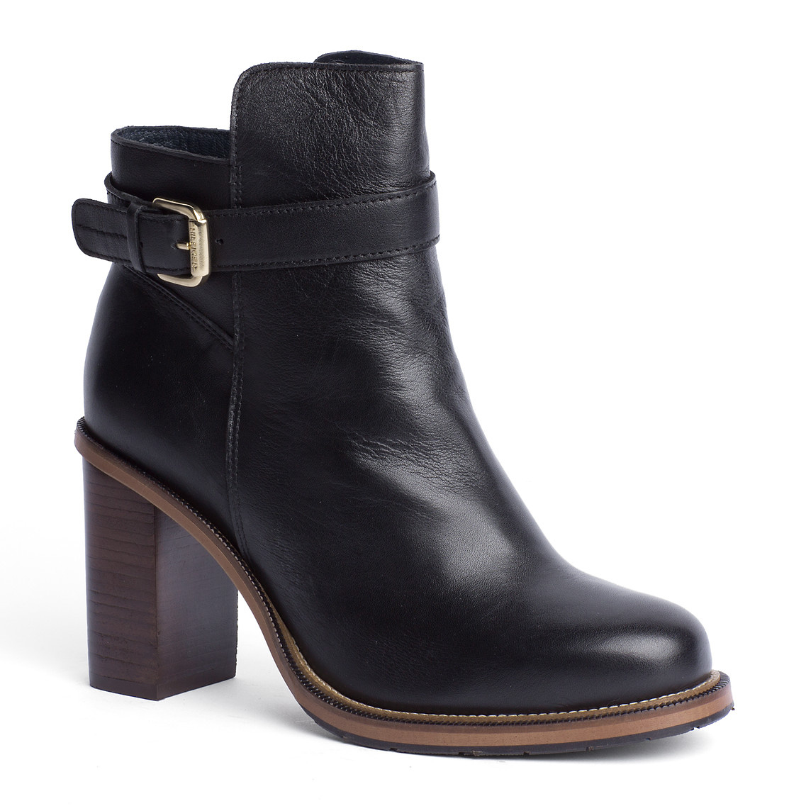 tommy hilfiger hillary ankle boots in black lyst. Black Bedroom Furniture Sets. Home Design Ideas