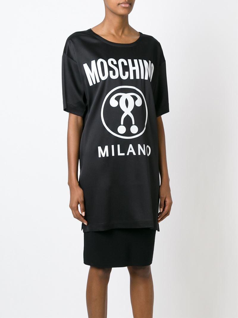 Moschino Printed logo T-shirt MwzS1e