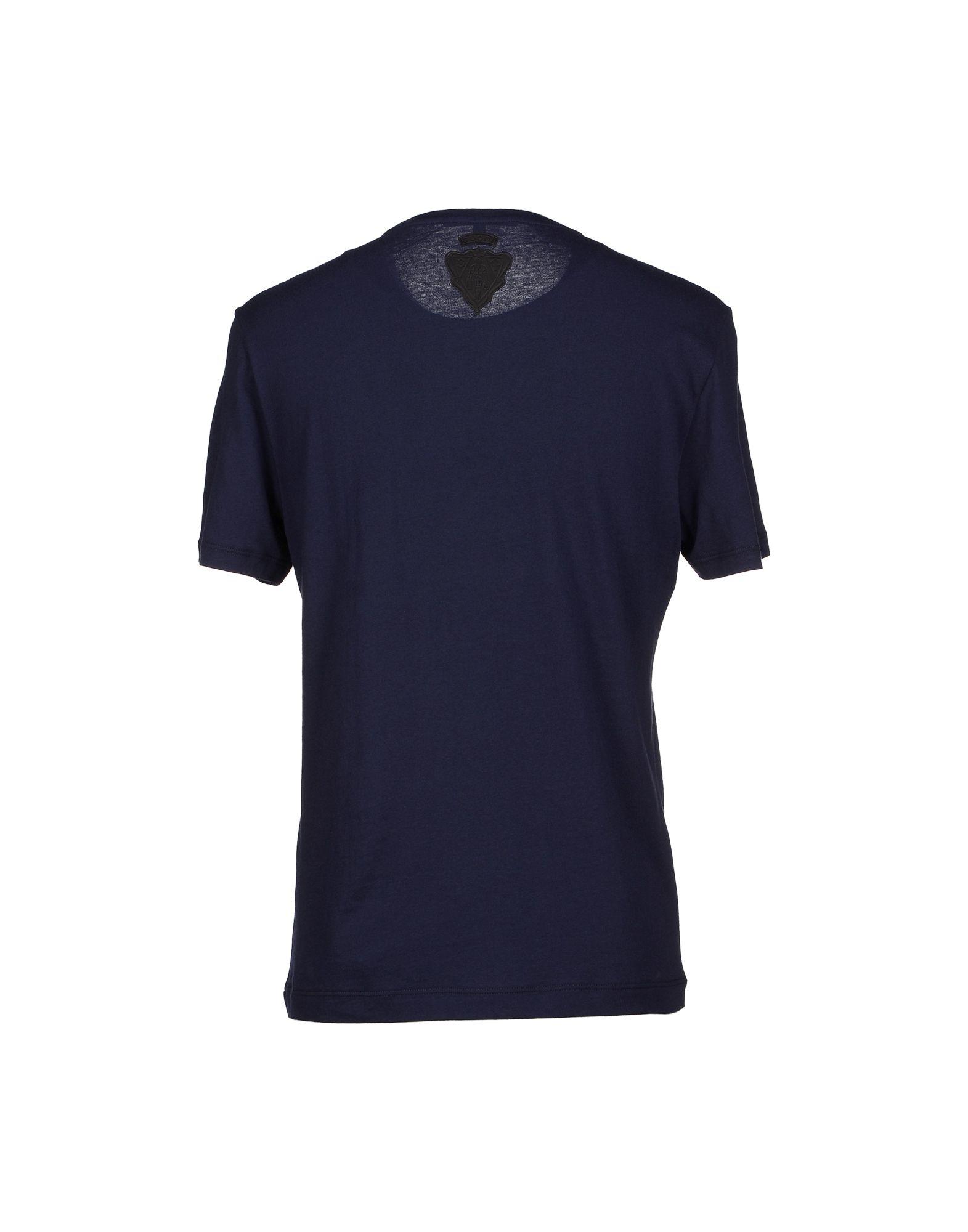 gucci t shirt in blue for men dark blue lyst. Black Bedroom Furniture Sets. Home Design Ideas