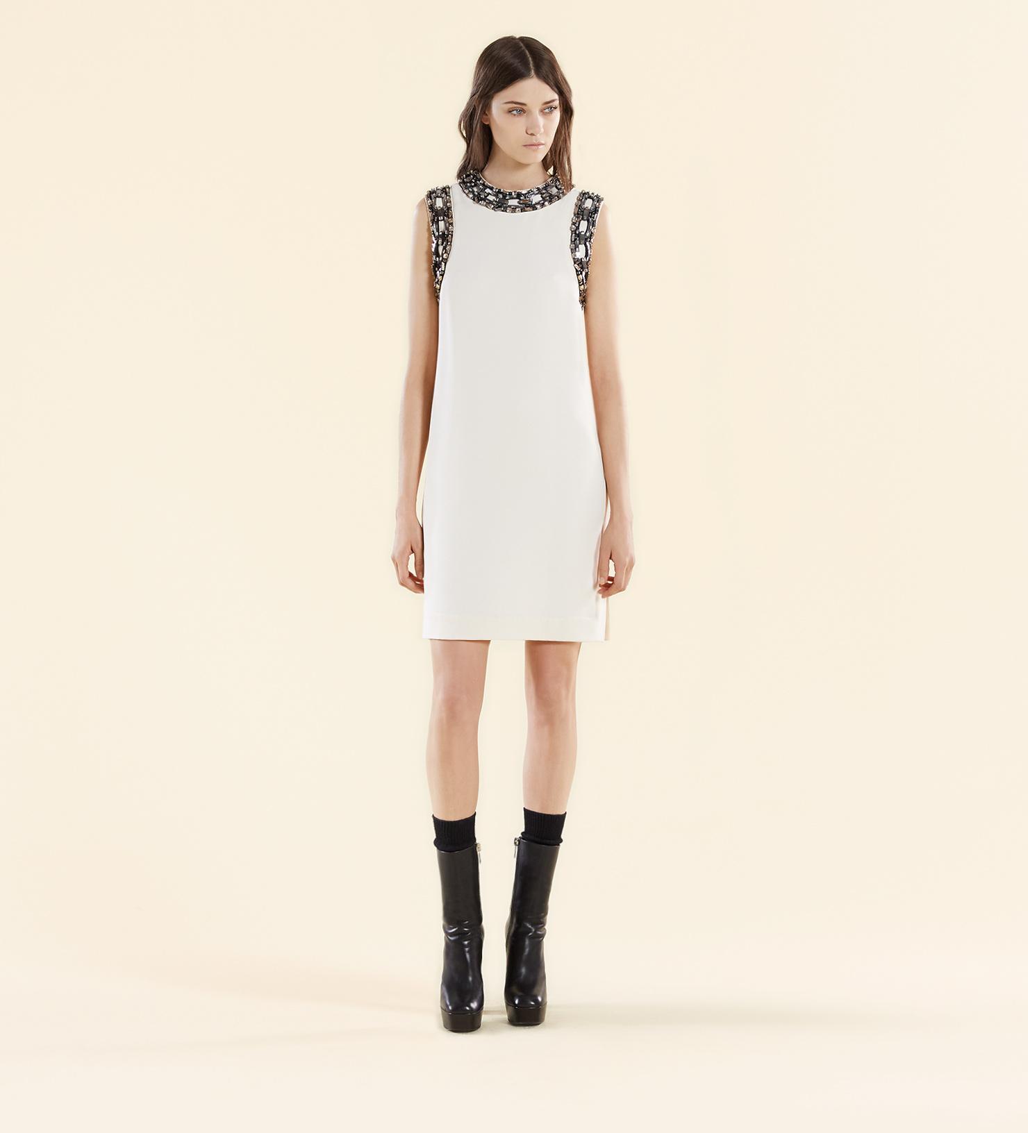 Gucci White Dress