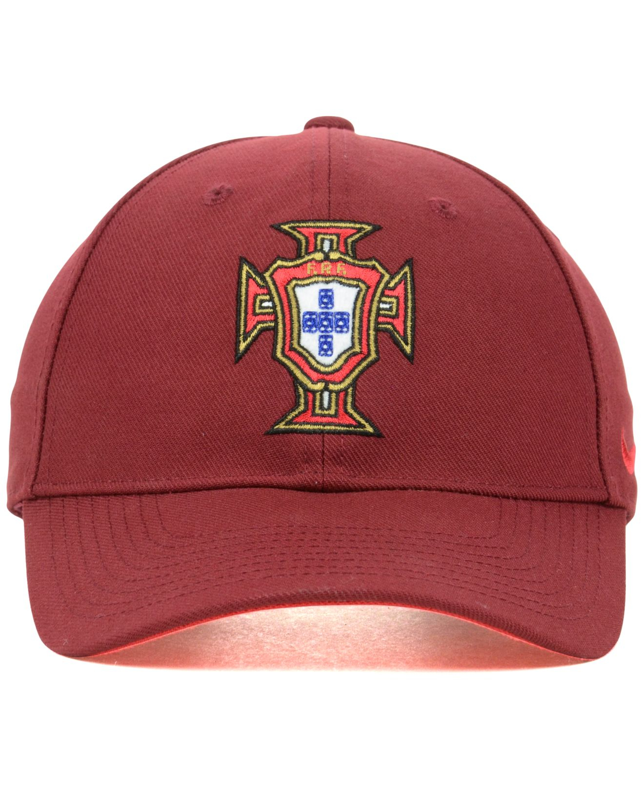 48baab248e4 Lyst - Nike Portugal National Team Core World Cup Cap in Red for Men