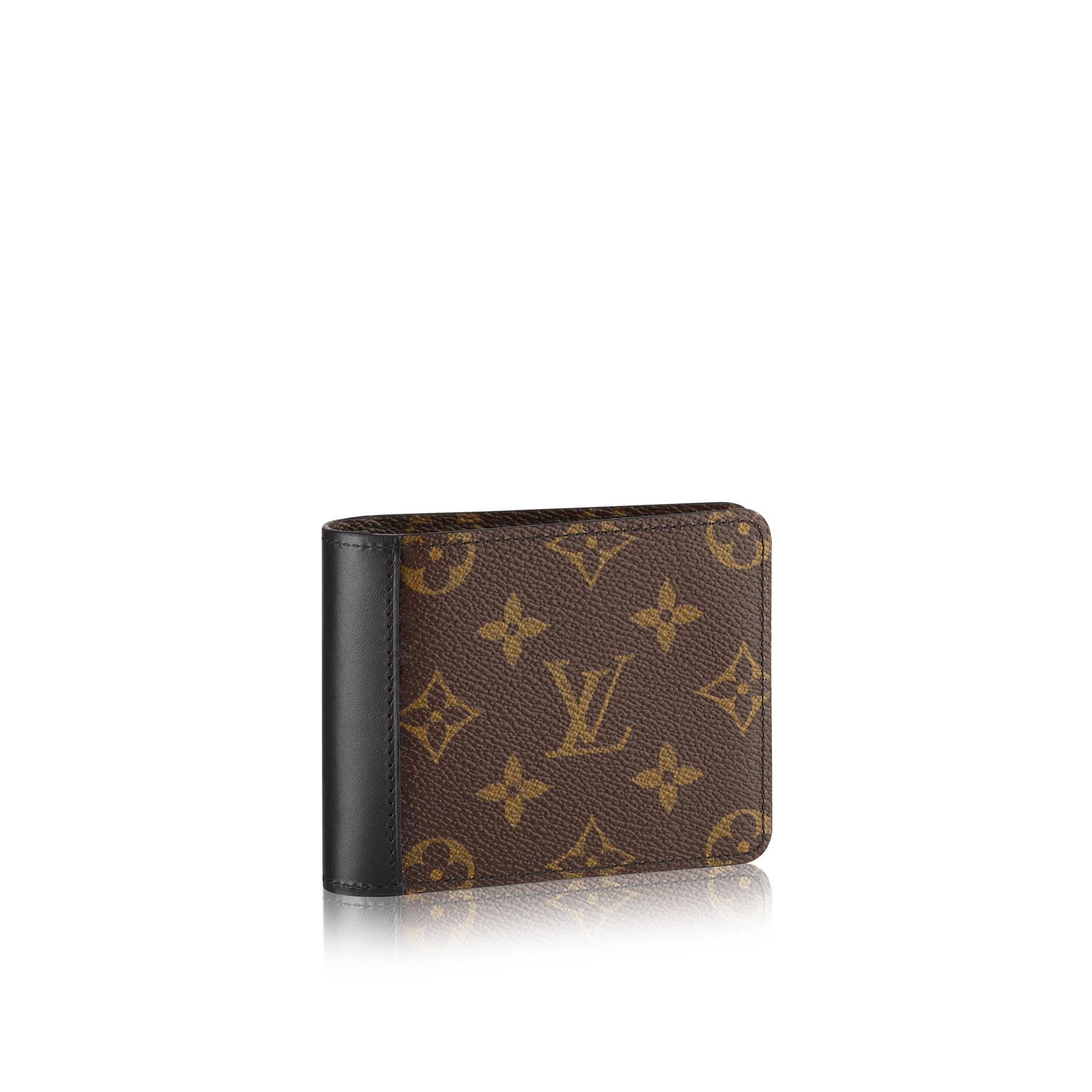 louis vuitton gaspar wallet in brown for men lyst