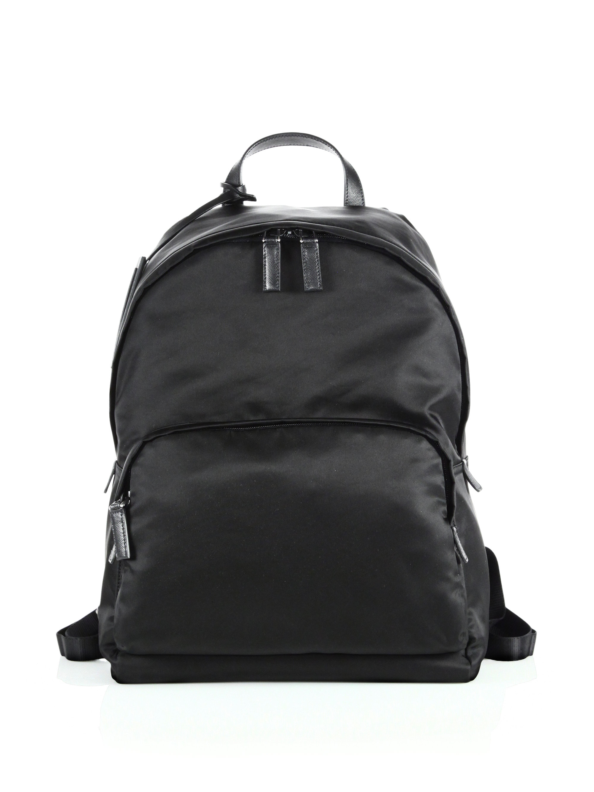 e8af9b55687b australia lyst prada zaino backpack in black for men 12ca9 cbfd3