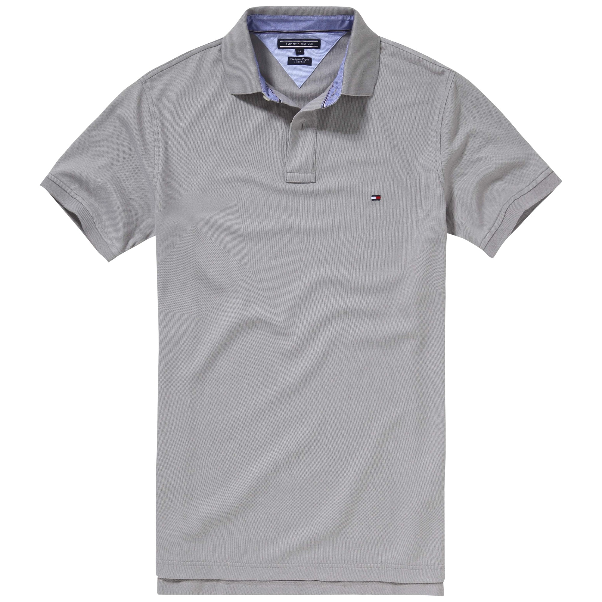 lyst tommy hilfiger performance polo shirt in gray for men. Black Bedroom Furniture Sets. Home Design Ideas