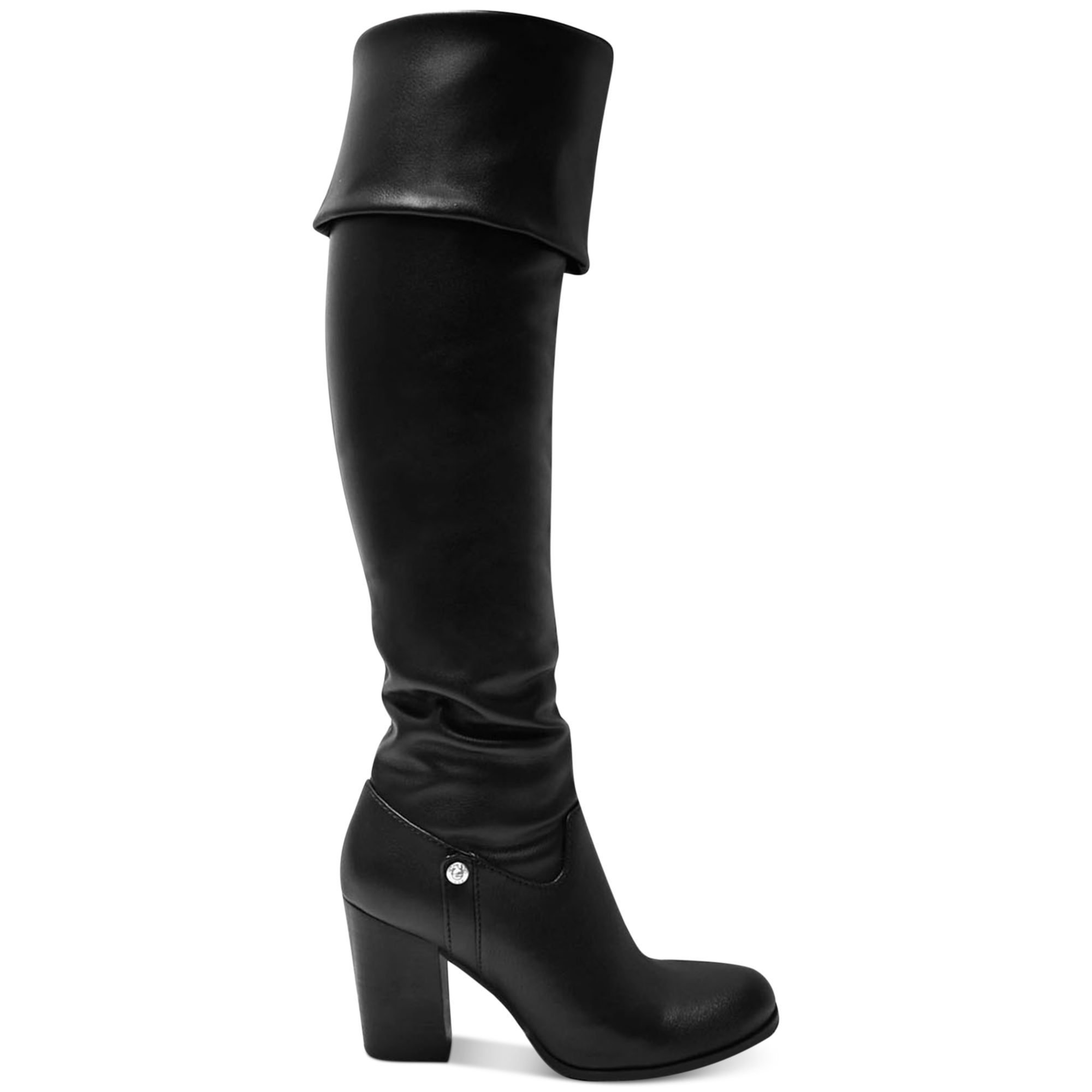 73299e48f74 Lyst - Guess Womens Dandra Boots in Black