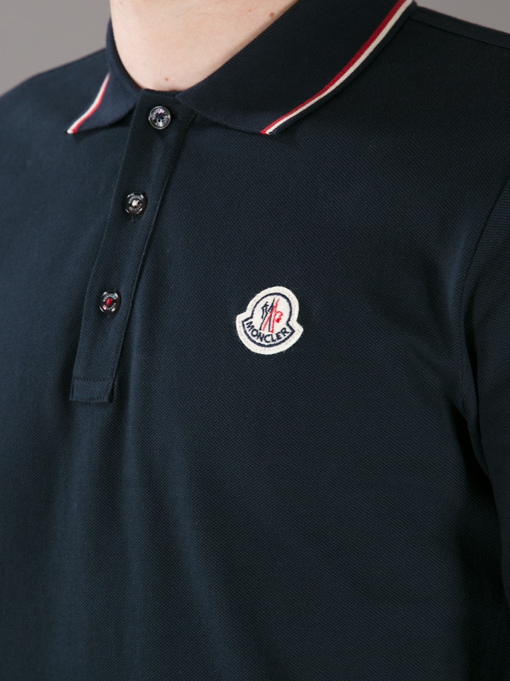 Moncler Polo Shirt White